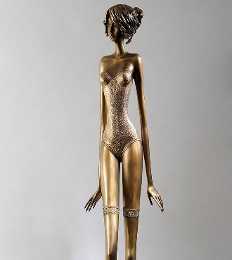 Ange - 171 cm - Sculpture en bronze