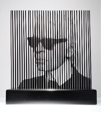 "Karl Lagergeld - 12"" x 11"" - Mix Media"